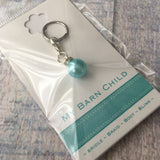 Bridle Charm: Pearl ~ Light Blue ~ NEW