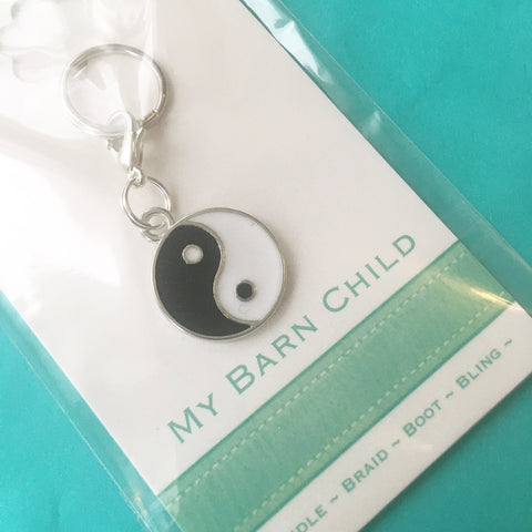 Bridle Charm: Yin and Yang 🌟 CLEARANCE