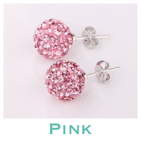Earrings: Match Your Pony - Pink