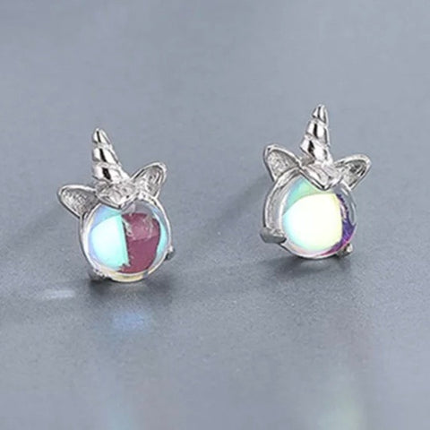 Earrings & Necklace: BOGO ~ Unicorn ~ Moonstone