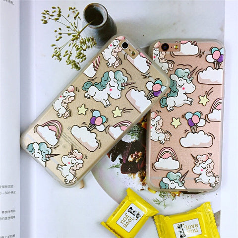 CLEARANCE! Phone Case: Unicorn Party