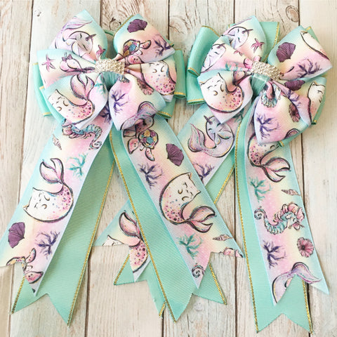 Show Bows: Mermaid Life 🧜‍♀️ NEW!