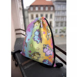 Drawstring Bag : Unicorn - Rainbow Unicorns