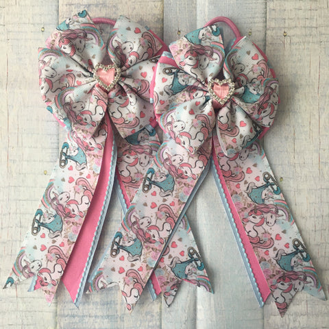 Show Bows: Unicorn Birthday
