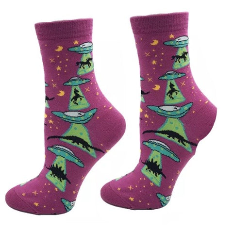 Crew Socks: Unicorns ~ Extinction Story ~ CLEARANCE