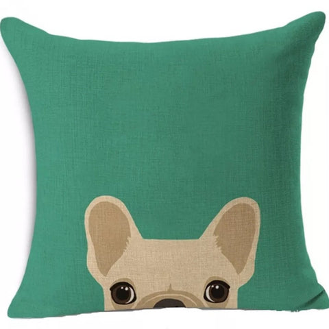 Décor: Throw Pillow Cover ~ Dog ~ French Bulldog