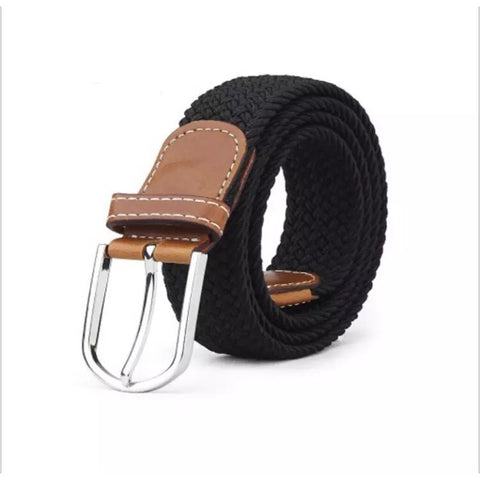 Belt: Woven Elastic - Black 🌟 NEW 🌟
