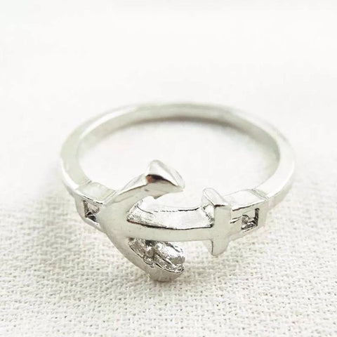 Ring: Anchor ~ Silver
