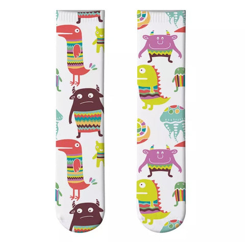 *Boot Socks: Monsters Boogie Monsters
