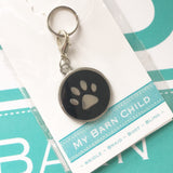 Dog & Cat Collar Charm / Tag ~ Paw Print