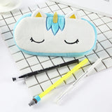 Cosmetic Pouch / Pencil Case: Plush Unicorn
