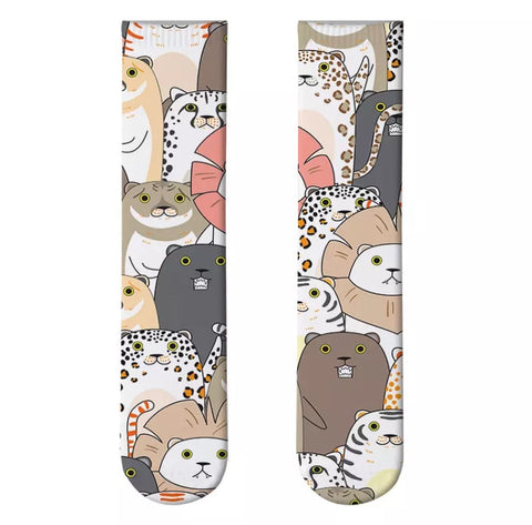Boot Socks: Cats ~ Wildcats ~ NEW