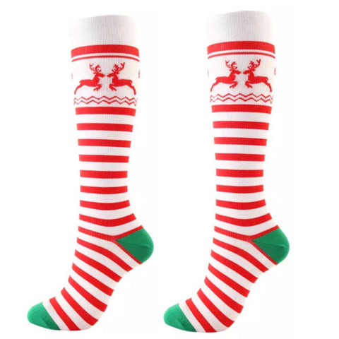 Boot Socks: Christmas ~ Reindeer 🌟 NEW!