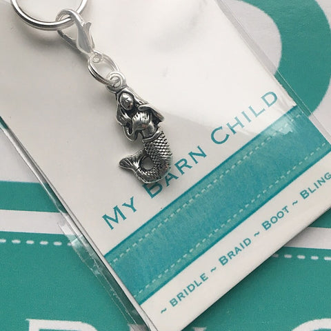 Bridle Charm: Mermaid 🐚 NEW 🐚