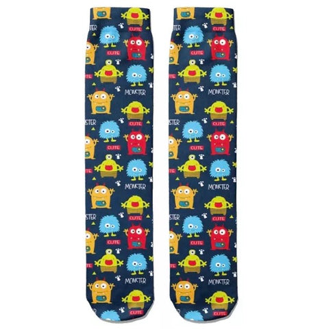 *Boot Socks: Monster Cute