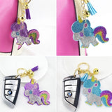 KeyChain / Bag Charm: Unicorn ~ Rainbow ⭐️ NEW!