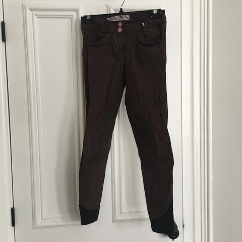 Eden's Closet: Tredstep breeches ~ brown 24R