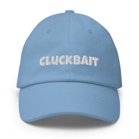 Baseball Hat: Cluckbait 🌟 NEW!