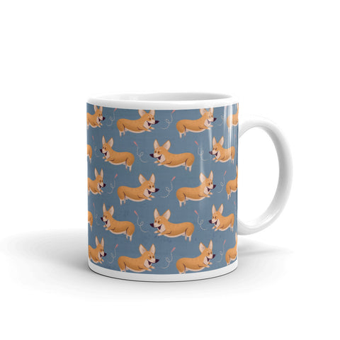 Mug: Happy Corgis