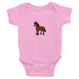 Infant Bodysuit: Short-Sleeve - Bay Pony
