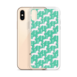 iPhone Case: Carousel ~ Teal