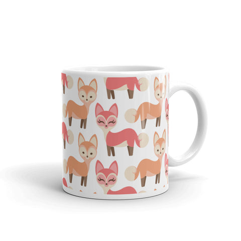 """Mr & Mrs Fox"" Collection: Mug ~ Mr and Mrs Fox"