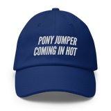 Baseball Hat: Pony Jumper Coming In Hot 🚀 NEW!