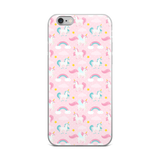 iPhone Case: Unicorns ~ Pink