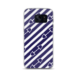 Samsung Phone Case: Reins ~ Blue