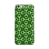iPhone Case: Snaffles ~ Green