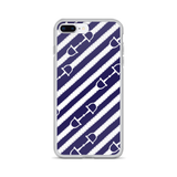 iPhone Case: Reins ~ Blue
