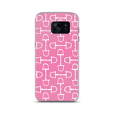 Samsung Phone Case: Snaffles ~ Pink