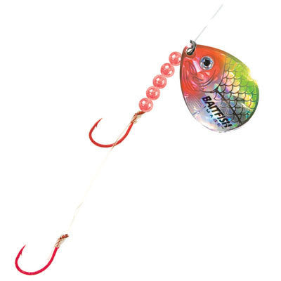 BAITFISH SPINNER HARNESS - CLOWN-High Falls Outfitters