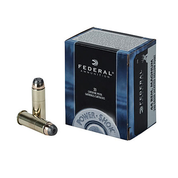 FEDERAL 44 REM MAG 240 GRAIN-High Falls Outfitters