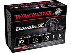 Winchester Double X Turkey Ammunition 10 Gauge 3-1/2