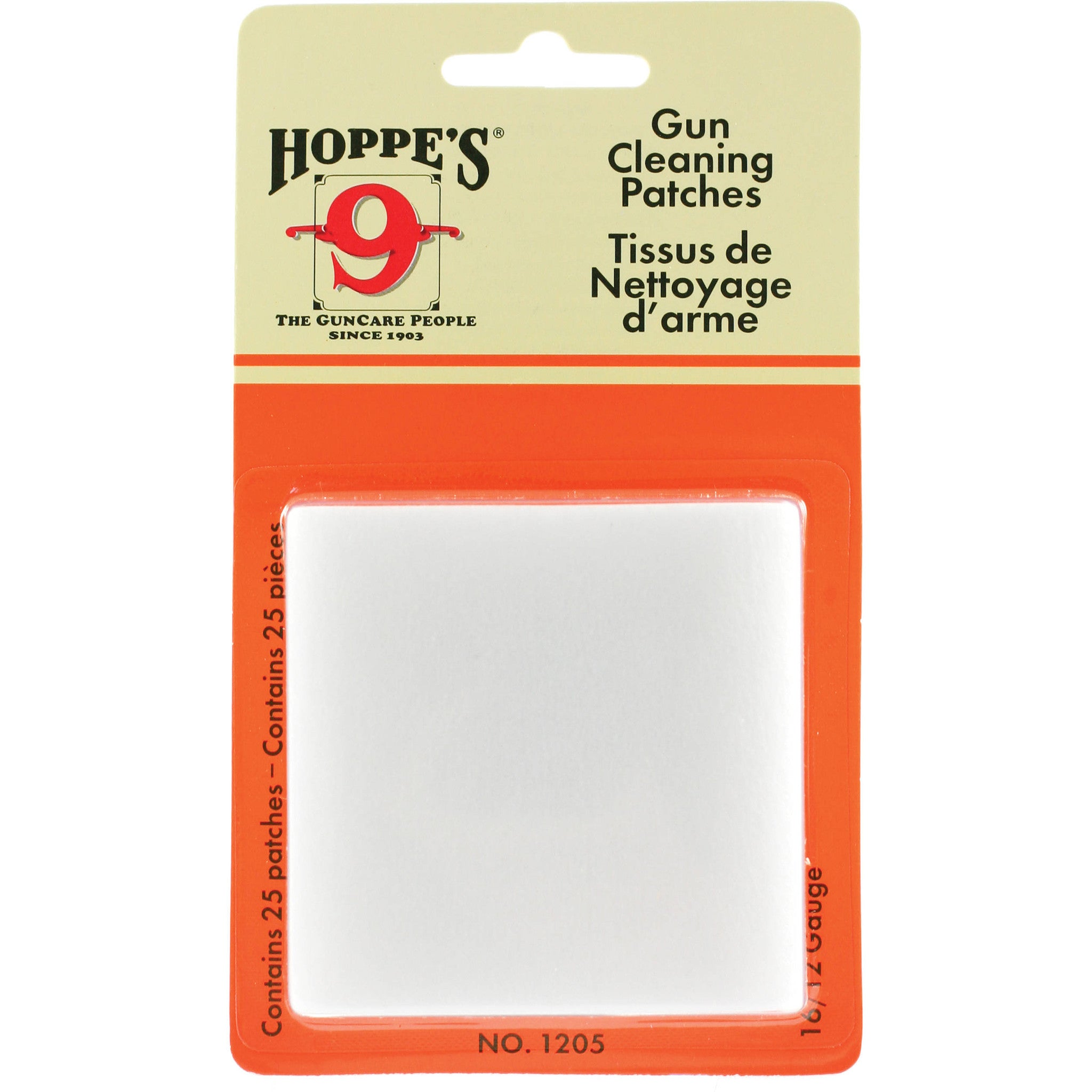 Hopes gun cleaning patch-High Falls Outfitters
