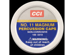 CCI MAGNUM PERCUSSION CAPS NO. 11 100-310