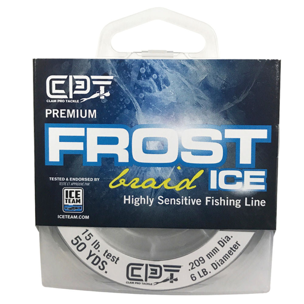 CLAM - FROST ICE BRAID 50 YRDS