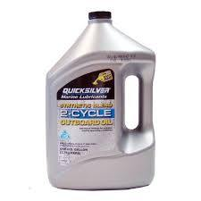 QUICKSILVER 2 CYCLE MARINE TC--W3 ENGINE OIL 4 LT