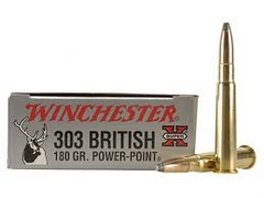 WINCHESTER 303 BRITISH 180GR POWER POINT-High Falls Outfitters