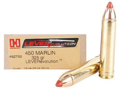 Hornady .450 Marlin Ammunition, 20 Rounds, FTX, 325 Grains LEVERevolution-High Falls Outfitters