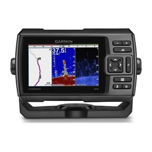 "GARMIN - STRIKER PLUS 5CV + TRANSDUCER (5"" FISH FINDER) +GPS"