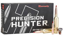 HORNADY PRECISION HUNTER 6MM CREEDMOOR 103GR ELD-X