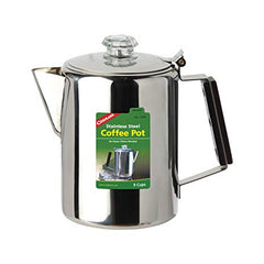 COGHLANS COFFEE POT STAINLESS STEEL 9 CUP