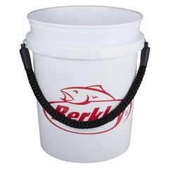 BERKLEY - 5 GALLON ROPE HANDLE BUCKET, WHITE