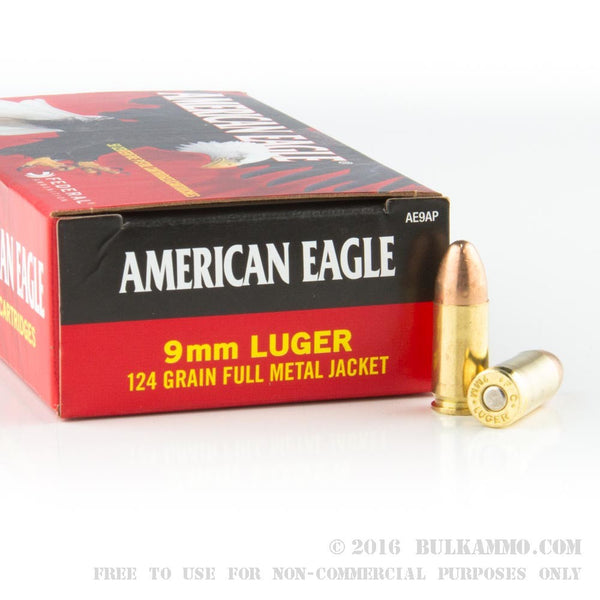 9mm LUGER 124 gr FMJ-High Falls Outfitters