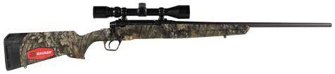 SAVAGE AXIS XP .22-250 BLACK SYNTHETIC W WEAVER 3-9X40 SCOPE