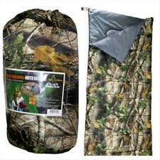 ALTAN HUNTERS SLEEPING BAG-CAMO-High Falls Outfitters