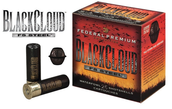 "BLACK CLOUD 3"" 12GA #4-High Falls Outfitters"