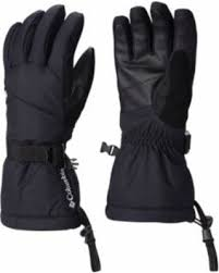 COLUMBIA WHIRLIBIRD GLOVES - BLACK W GREY
